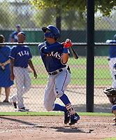Jonathan Ornelas - Texas Rangers 2019 spring training (Bill Mitchell)