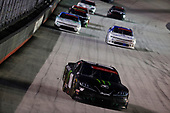 BRISTOL, TENNESSEE - JUNE 01: Riley Herbst, driver of the #18 Monster Energy Toyota, leads a pack of cars during the NASCAR Xfinity Series Cheddar's 300 presented by Alsco at Bristol Motor Speedway on June 01, 2020 in Bristol, Tennessee. (Photo by Kevin C. Cox/Getty Images)