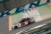 Harrison Burton (20) races for the Shady Rays 200 at Kentucky Speedway in Sparta, Kentucky.