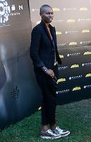 """La cantante inglese Skin, voce degli Skunk Anansie, posa durante un photocall per la presentazione del film """"Andron - The Black Labyrinth"""" a Roma, 13 settembre 2014.<br /> British singer Skin, of the band Skunk Anansie, poses during a photocall for the presentation of the movie """"Andron - The Black Labyrinth"""" in Rome, 13 September 2014.<br /> UPDATE IMAGES PRESS/Riccardo De Luca"""