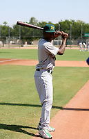 Jemile Weeks / Oakland Athletics 2008 Instructional League..Photo by:  Bill Mitchell/Four Seam Images