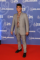 LONDON, UK. October 15, 2019: Karim Zeroual at the National Lottery Awards 2019, London.<br /> Picture: Steve Vas/Featureflash