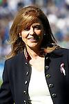 CD Leganes' President Maria Victoria Pavon during La Liga match. October 15,2016. (ALTERPHOTOS/Acero)