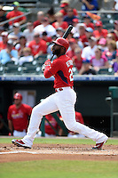 St. Louis Cardinals outfielder Jason Heyward (22) during a Spring Training game against the New York Mets on April 2, 2015 at Roger Dean Stadium in Jupiter, Florida.  The game ended in a 0-0 tie.  (Mike Janes/Four Seam Images)