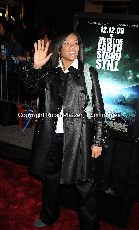 """singer Lil Mama..at The New York Premiere of """"The Day the Earth Stood Still"""" on December 9, 2008 at the AMC Loews Lincoln Square. ....Robin Platzer, Twin Images"""