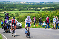 Picture by Alex Whitehead/SWpix.com - 15/06/2018 - Cycling - 2018 OVO Energy Women's Tour - Stage 3, Atherstone to Royal Leamington Spa - Ann-Sophie Duyck and Vita Heine.