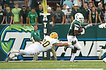 Tulane defeats Southeastern Louisiana, 35-20, for their first win of the season and first victory in Yulman Stadium.