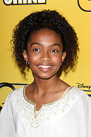 "LOS ANGELES - JUN 5:  Yara Shahidi arriving at the Premiere Of Disney Channel's .""Let It Shine"" at DGA Theater on June 5, 2012 in Los Angeles, CA"