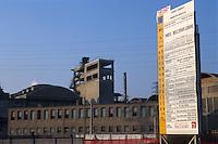 """- VEGA scientific and technological park on old industrial area of Porto Marghera, mansion """"Innovation Gate"""" and old industrial sheds ....- parco scientifico e tecnologico VEGA sulla vecchia area industriale di Porto Marghera, palazzina """"Porta dell'Innovazione"""" e vecchi capannoni industriali"""