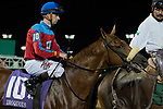 September 18, 2021: #10 Husband Material in the post parade G3 Iroquois S. at Churchill Downs in Louisville, Kentucky on September 18, 2021. Jessica Morgan/Eclipse Sportswire.