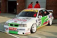 1997 British Touring Car Championship media day #25 Jamie Wall (GBR). Mint Motorsport. Vauxhall Cavalier.