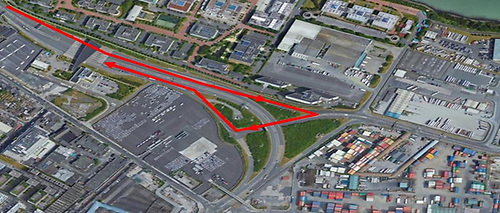 Turn-around facility to Dublin Port