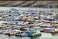 Lake Mead Marina in Boulder Harbor, Lake Mead Recreation Area, Nevada