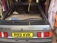 BNPS.co.uk (01202 558833)<br /> Pic: Denis Findlay/BNPS<br /> <br /> A man who was given a Ford Sierra as a company car almost 40 years ago loved it so much that he bought it and has kept it ever since.<br /> <br /> Denis Findlay was given the motor in October 1983 as a perk while working as an operations executive for British Shipbuilders.<br /> <br /> When Denis was made redundant two years later he was told he could hold onto the car as part of his leaving package.<br /> <br /> Although he found a new job and was given another company car, he stowed the Ford Sierra GL away in a garage.