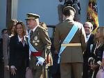Casa Real. Dia de la Hispanidad. Desfile de las Fuerzas Armadas.