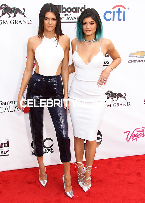 LAS VEGAS, NV, USA - MAY 18: Kendall Jenner, Kylie Jenner at the Billboard Music Awards 2014 held at the MGM Grand Garden Arena on May 18, 2014 in Las Vegas, Nevada, United States. (Photo by Xavier Collin/Celebrity Monitor)