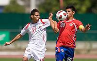 Panama U-17 Men vs Costa Rica, February 22, 2011