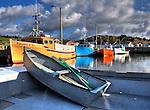 Boats and Harbors, Nova Scotia, Canada
