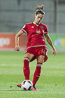 Spain's Vicky Losada during the match of  European Women's Championship 2017 at Las Rozas, between Spain and Montenegro. September 15, 2016. (ALTERPHOTOS/Rodrigo Jimenez) /NORTEPHOTO