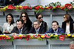 Popular Party  leaders Manuel Cobo, Alberto Ruiz-Gallardon and Mariano Rajoy during Tennis Madrid Open match, May 14,2010..(ALFAQUI/Cesar Cebolla)