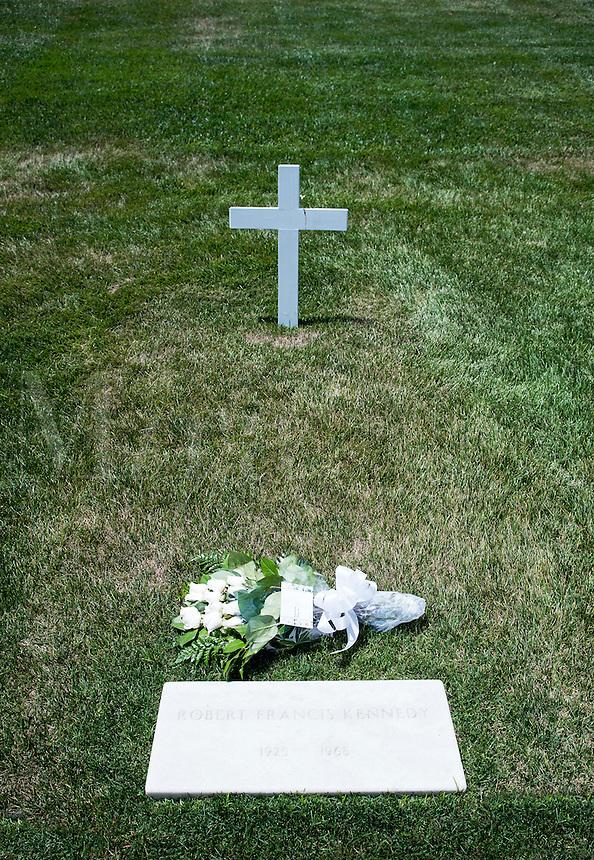 Robert Francis Kennedy Grave, Arlington Cemetery, Virginia, USA