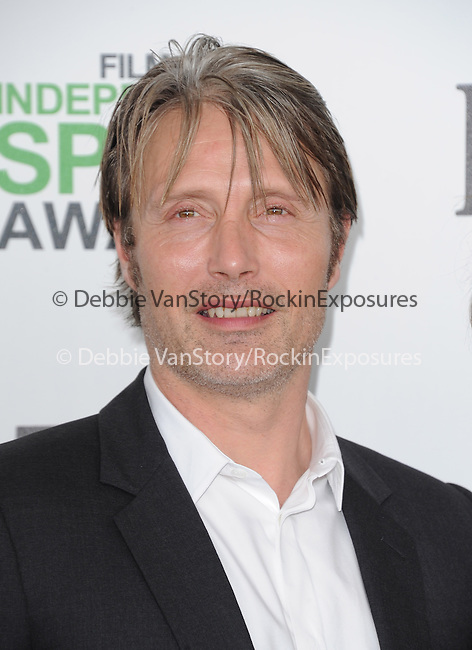 Mads Mikkelsen<br />  attends The 2014 Film Independent Spirit Awards held at Santa Monica Beach in Santa Monica, California on March 01,2014                                                                               © 2014 Hollywood Press Agency