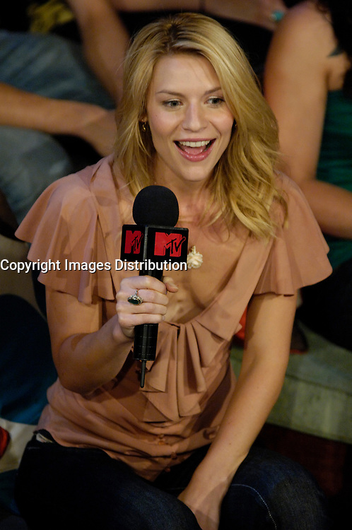 "Toronto (ON), July 25, 2007 - Hollywood actress and star Claire Danes on ""MTV Live"" Wednesday, July 25 talking to hosts Daryn Jones and Jessi Cruickshank about the theatrical release of her latest film, Stardust, which hits theatres August 10th."