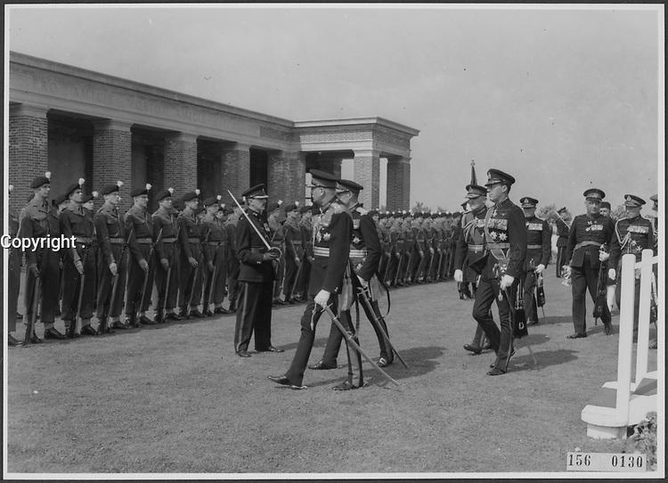 November 11 (1945)  ceremonies in Holland after World War II