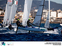The Trofeo Princesa Sofia Iberostar celebrates this year its 50th anniversary in the elite of Olympic sailing in a record edition, to be held in Majorcan waters from 29th March to 6th April, organised by Club Nàutic S'Arenal, Club Marítimo San Antonio de la Playa, Real Club Náutico de Palma and the Balearic and Spanish federations. <br /> <br /> ©Pedro Martinez/SAILING ENERGY/50th Trofeo Princesa Sofia Iberostar <br /> 04 April, 2019.
