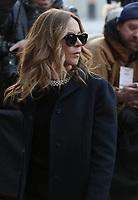 Julie Snyder<br />  attend the funeral of Rene Angelil, , Friday Jan. 22, 2016 at Notre-Dame Basilica in Montreal, Canada.<br /> <br /> She is divorcing her husband Pierre-Karl Peladeau, 6 months after their wedding.<br /> <br /> <br /> <br /> <br /> <br /> <br /> <br /> <br /> <br /> <br /> <br /> <br /> .<br /> <br /> <br /> Photo : Agence Quebec Presse<br /> <br /> <br /> <br /> <br /> <br /> <br /> <br /> <br /> <br /> .