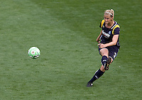 LA Sol's Allison Faulk. The LA Sol defeated the Washington Freedom 2-0 in the opening game of Womens Professional Soccer at Home Depot Center stadium on Sunday March 29, 2009.  .Photo by Michael Janosz