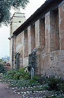 California Missions: Mission San Carlos, Carmel. Photo '86.