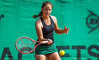 Hilversum, Netherlands, August 5, 2021, Tulip Tennis center, National Junior Tennis Championships 16 and 18 years, NJK, girls single 16 years, Loes Ebeling Koning (NED)<br /> Photo: Tennisimages/Henk Koster
