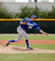Rowdy Hardy  -  Kansas City Royals - 2009 extended spring training.Photo by:  Bill Mitchell/Four Seam Images