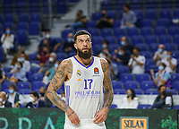 30th September 2021; Madrid, Spain:  Euroleague Basketball, Real Madrid versus Anadolu Efes Istanbul;  Sergio Llull of team Real Madrid during the Matchday 1 between Real Madrid and Anadolu Efes Istanbul