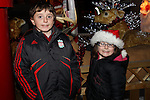 Kyron and Sophoe Kelly at the Arrival of Santa and the turning on of the Christmas Lights in Dunleer...(Photo credit should read Jenny Matthews www.newsfile.ie)....This Picture has been sent you under the conditions enclosed by:.Newsfile Ltd..The Studio,.Millmount Abbey,.Drogheda,.Co Meath..Ireland..Tel: +353(0)41-9871240.Fax: +353(0)41-9871260.GSM: +353(0)86-2500958.email: pictures@newsfile.ie.www.newsfile.ie.