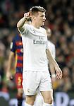 Real Madrid's Toni Kroos during La Liga match. April 2,2016. (ALTERPHOTOS/Acero)