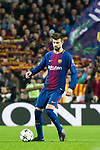 Gerard Pique Bernabeu of FC Barcelona in action during the UEFA Champions League 2017-18 Round of 16 (2nd leg) match between FC Barcelona and Chelsea FC at Camp Nou on 14 March 2018 in Barcelona, Spain. Photo by Vicens Gimenez / Power Sport Images