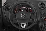 Car pictures of steering wheel view of a 2015 Mercedes Benz Citan 109 Cdi 5 Places 5 Door Passenger Van Steering Wheel