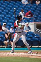 at Atrium Health Ballpark on August 29, 2021 in Kannapolis, North Carolina. (Brian Westerholt/Four Seam Images)