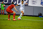 March 3, 2016 : Team USA Christen Press #12, on the attack, while Team England Lucy Bronze #2, attempts to defend, during the matchup between USA and England in the She Believes Cup at Raymond James Stadium in Tampa, Florida.  Douglas DeFelice/ESW/CSM