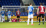 St Johnstone v St Mirren….27.03.19   McDiarmid Park   SPFL<br />Zander Clark saves Simeon Jackson's penalty<br />Picture by Graeme Hart. <br />Copyright Perthshire Picture Agency<br />Tel: 01738 623350  Mobile: 07990 594431