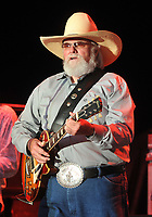 "06 July 2020 - Country music and southern rock legend Charlie Daniels has passed away after suffering a stroke. The Grand Ole Opry member and Country Music Hall of Famer was 83. File Photo: 20 July 2012 - Morristown, OH - Country music legend CHARLIE DANIELS performs at Day 2 of the 36th Annual ""Jamboree In The Hills"" 2012.  Photo Credit: Jason L Nelson/AdMedia"