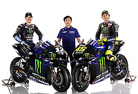 Maverick Vinales , Takahiro Sumi, Valentino Rossi<br /> 05/02/2020 Moto Gp 2020 <br /> Presentazione Yamaha Monster Energy 2020 YZR-M1 <br /> Photo Yamaha Motor Racing Srl / Insidefoto <br /> EDITORIAL USE ONLY