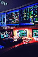 Computer control room Arizona Electric Power Coop Benson AZ