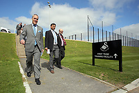 Pictured: Tuesday 04 April 2017<br />Re: Official opening of the Fairwood Training Complex of Swansea City FC, Wales, UK