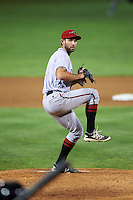 Richmond Flying Squirrels relief pitcher Christian Jones (23) during a game against the Erie SeaWolves on August 22, 2016 at Jerry Uht Park in Erie, Pennsylvania.  Erie defeated Richmond 4-2.  (Mike Janes/Four Seam Images)