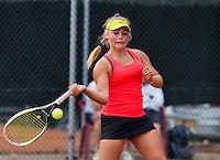 Netherlands, Rotterdam August 05, 2015, Tennis,  National Junior Championships, NJK, TV Victoria, Finn Joziasse<br /> Photo: Tennisimages/Henk Koster
