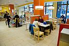Jan. 22, 2013; au bon pain cafe' bakery. Photo by Barbara Johnston/University of Notre Dame