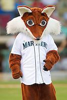 The Pulaski Mariners mascot at Calfee Park August 29, 2010, in Pulaski, Virginia.  Photo by Brian Westerholt / Four Seam Images